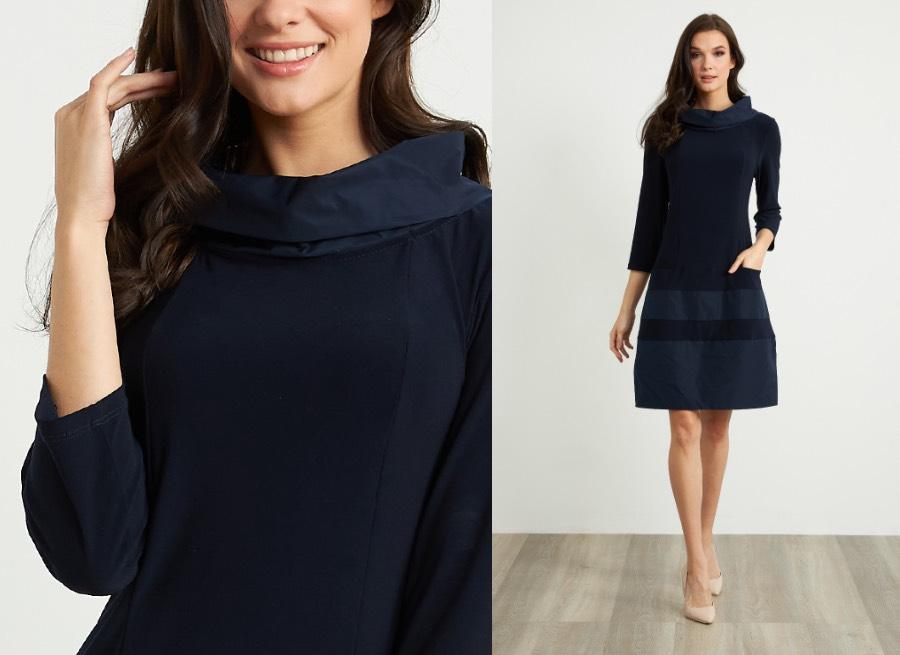 Joseph Ribkoff Taffeta Dress Style 211198