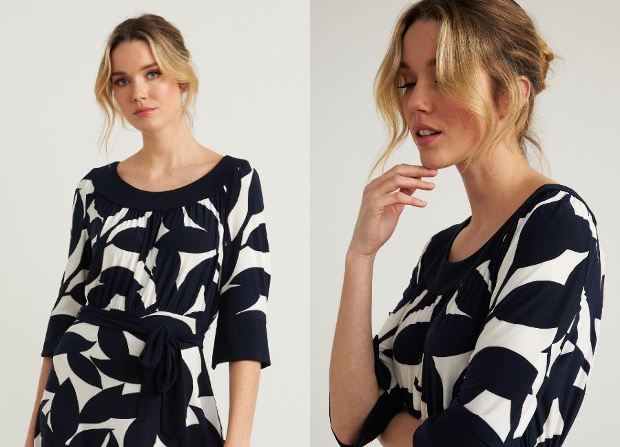Joseph Ribkoff 3/4 Sleeve Dress Style 212201