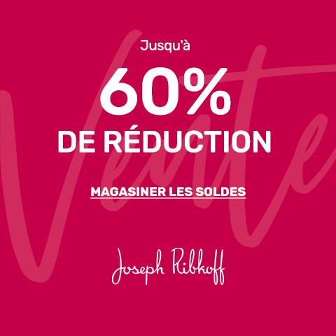 Jusqu'à 60% de réduction