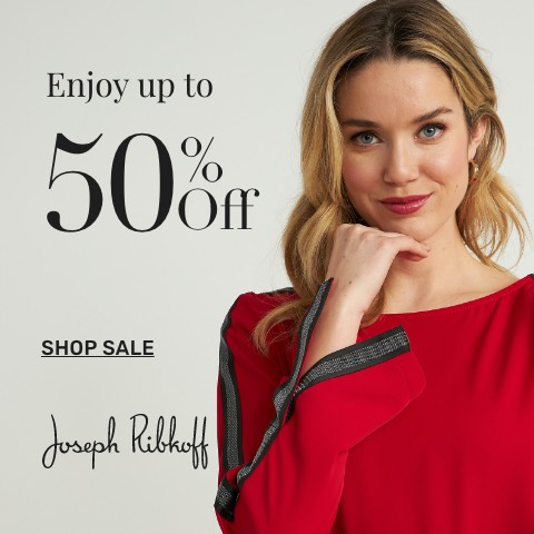 Shop select styles from our Joseph Ribkoff collection, now on sale.