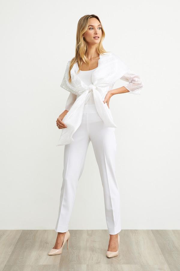 Joseph Ribkoff White Pants Style 143105