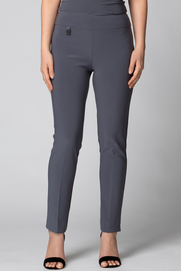 Joseph Ribkoff Pant style 144092. Smokey Grey 163