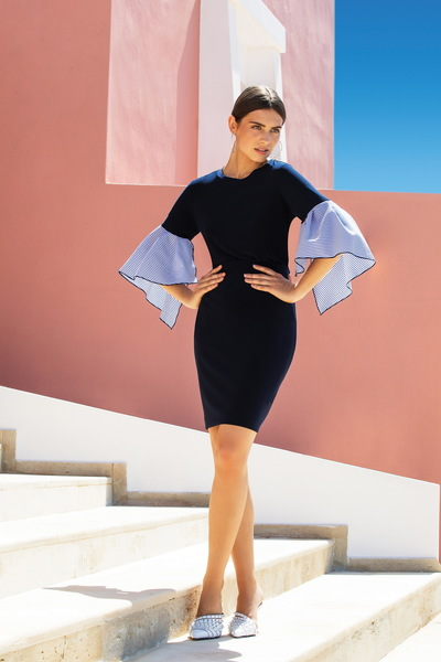 Joseph Ribkoff Midnight Blue 40 Skirts Style 153071