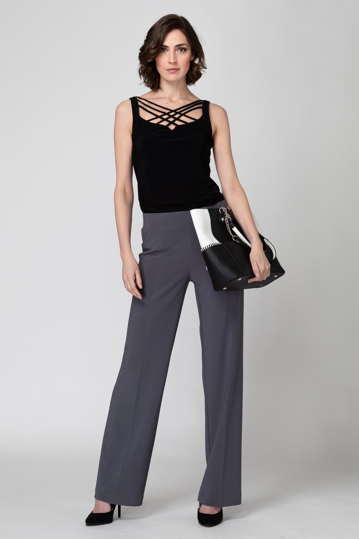 Joseph Ribkoff Pantalons Gris Fumee 163 Style 153088