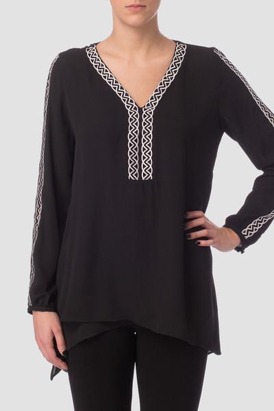 Joseph Ribkoff Chemises et blouses Noir/Blanc Cassé Style 171281