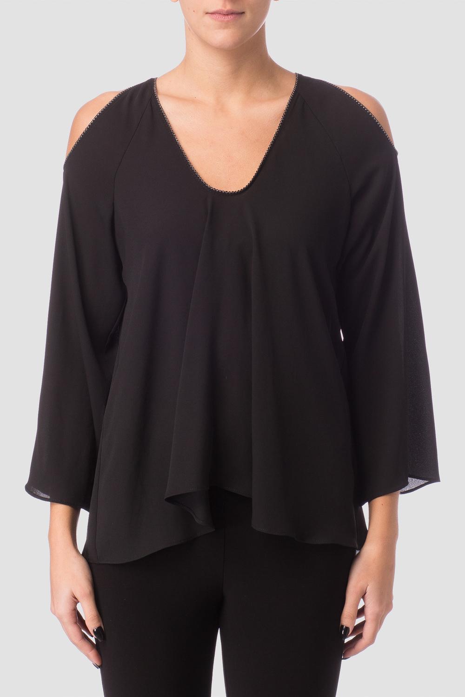 Joseph Ribkoff Black Shirts & Blouses Style 171293
