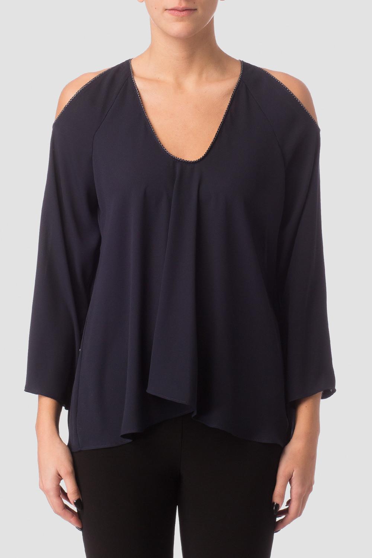 Joseph Ribkoff Chemises et blouses Bleu Minuit 40 Style 171293