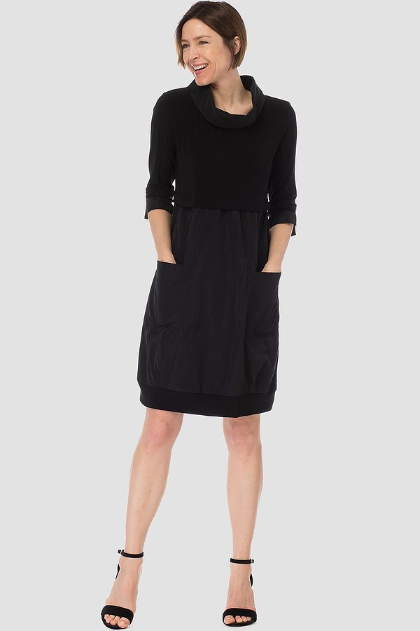 Joseph Ribkoff dress style 173444. Black