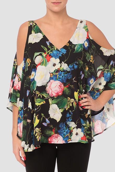 Joseph Ribkoff Chemises et blouses Noir/Multi Style 181630