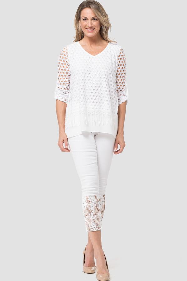 Joseph Ribkoff White Pants Style 181959