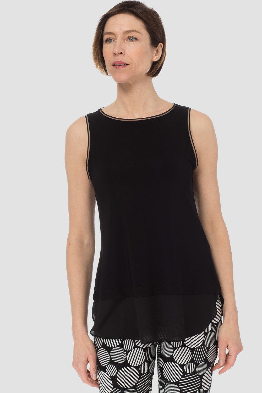 Joseph Ribkoff Tee-shirts et camisoles Noir Style 183126