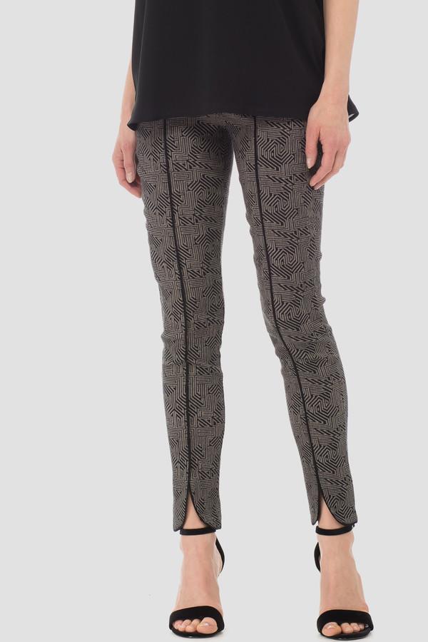 Joseph Ribkoff Black/Taupe Pants Style 183525
