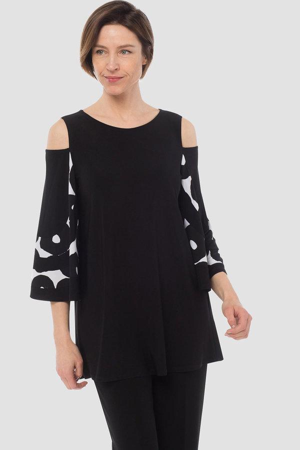 Joseph Ribkoff Black/White Shirts & Blouses Style 183770