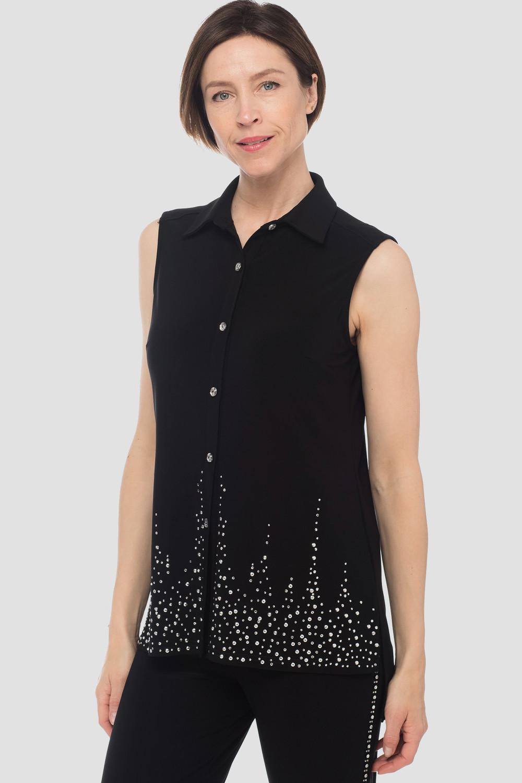 Joseph Ribkoff Black Shirts & Blouses Style 183120