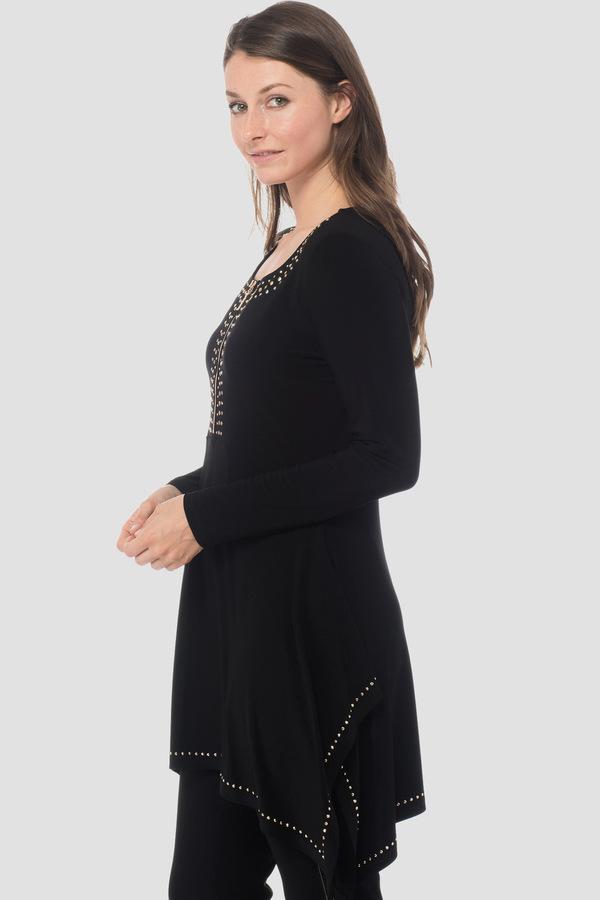 3da635420c1 Joseph Ribkoff tunic style 183196 - Black | 1ère Avenue