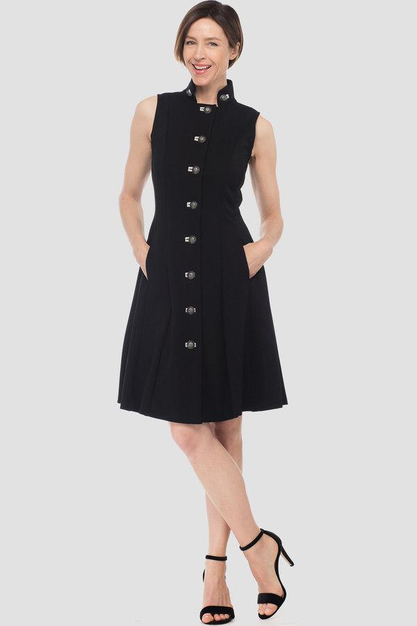 Joseph Ribkoff Black/Light Grey Dresses Style 183338