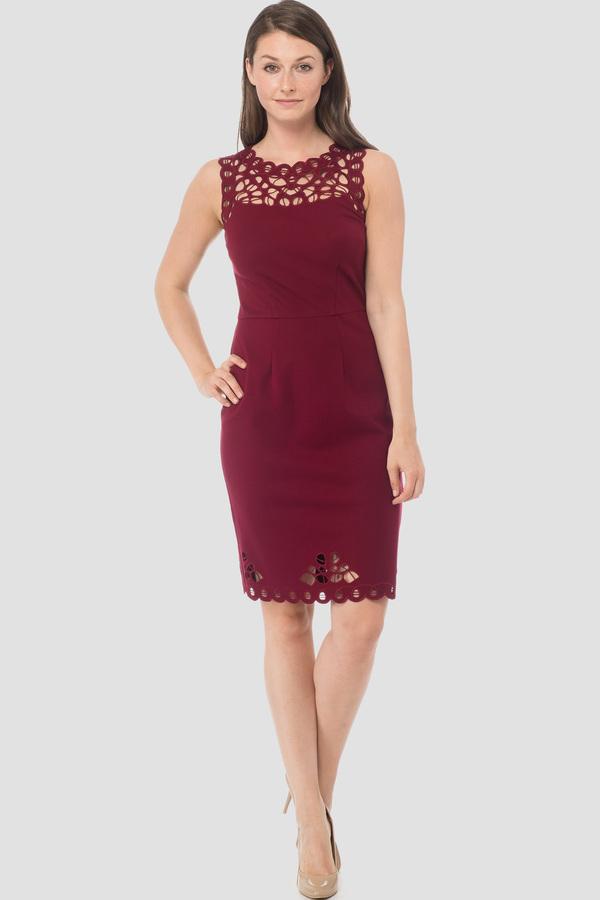 Joseph Ribkoff Cranberry 183 Dresses Style 183339