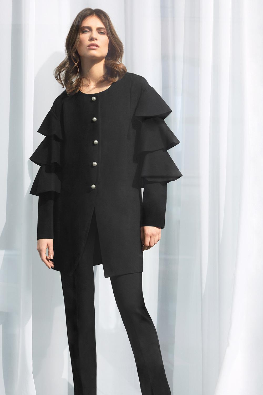 Joseph Ribkoff Black Outerwear Style 183345