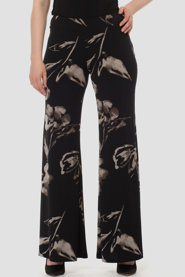 Joseph Ribkoff Black/Taupe Pants Style 183559