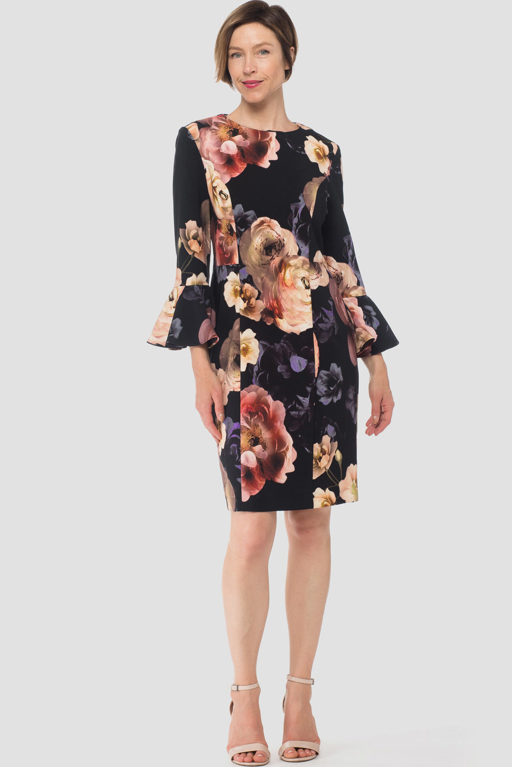 Joseph Ribkoff Black/Multi Dresses Style 183648