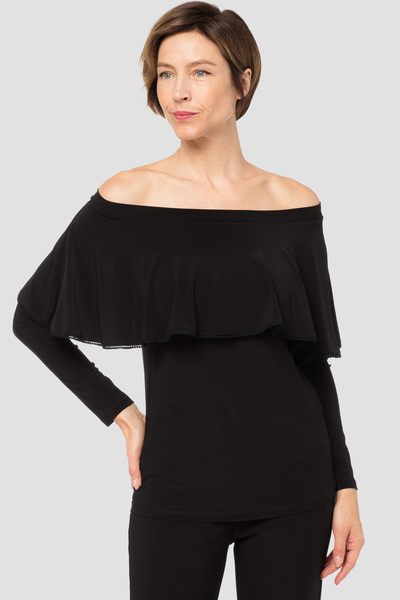 Joseph Ribkoff Black Tunics Style 184082