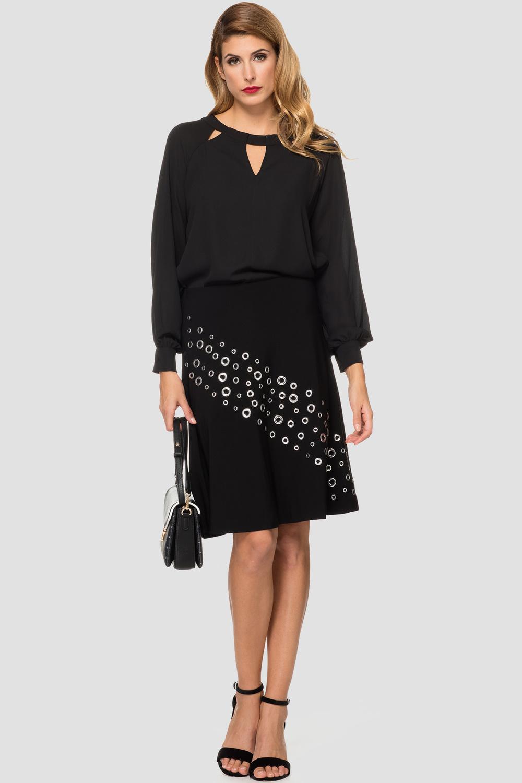Joseph Ribkoff Black Skirts Style 184090
