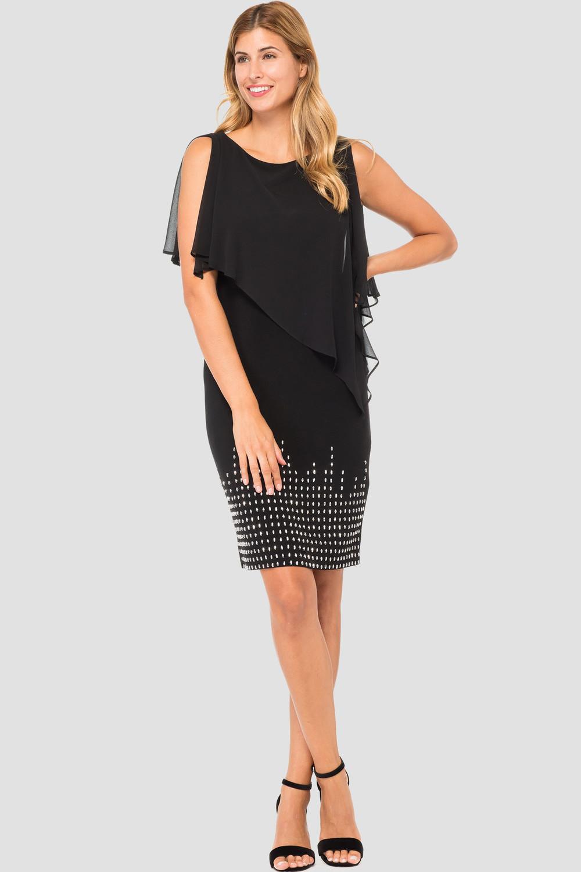 Joseph Ribkoff Black Dresses Style 184202