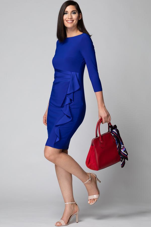 Joseph Ribkoff Royal Sapphire 163 Dresses Style 184471