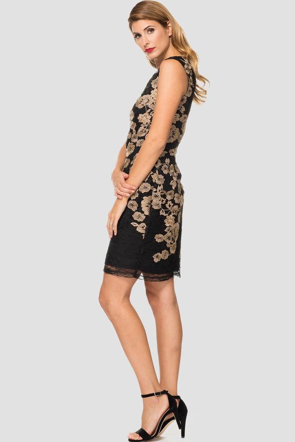 8a83352f9984 Joseph Ribkoff dress style 184516 - Gold | 1ère Avenue