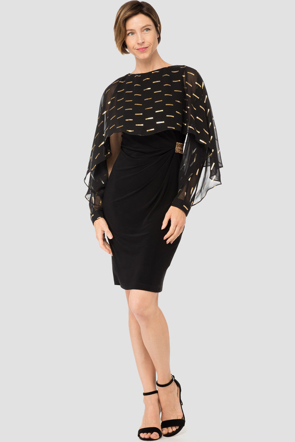 0c6eea3db611 Joseph Ribkoff dress style 184605 - Gold | 1ère Avenue