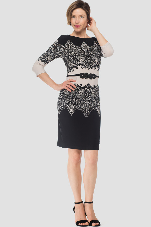 6f60129ae6bc Joseph Ribkoff dress style 184686 - Beige