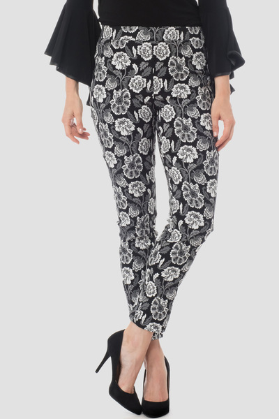 Joseph Ribkoff Pantalons Noir/Blanc Style 184836