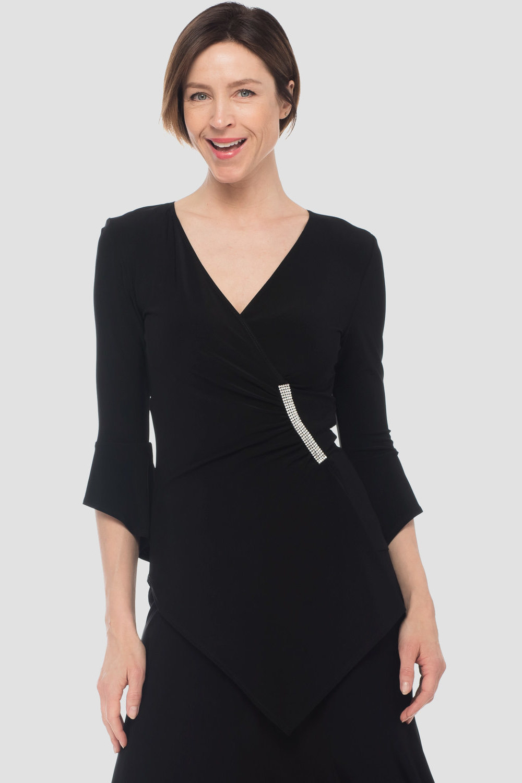 Joseph Ribkoff Black Shirts & Blouses Style 181424