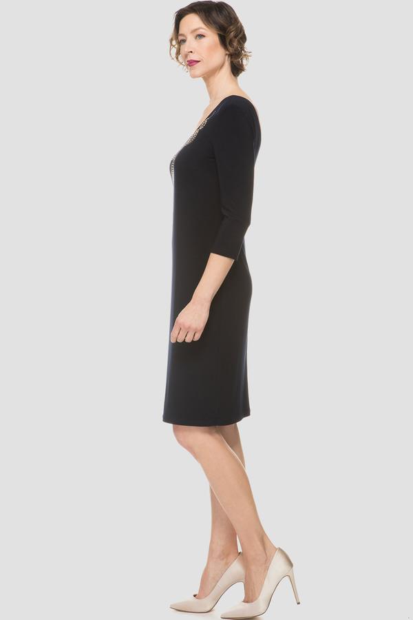 58495c52d545 Joseph Ribkoff dress style 191003X - Navy