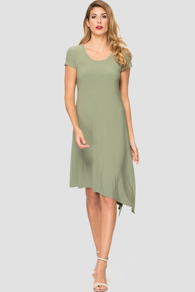 Joseph Ribkoff DEEP SAGE 191 Dresses Style 191025