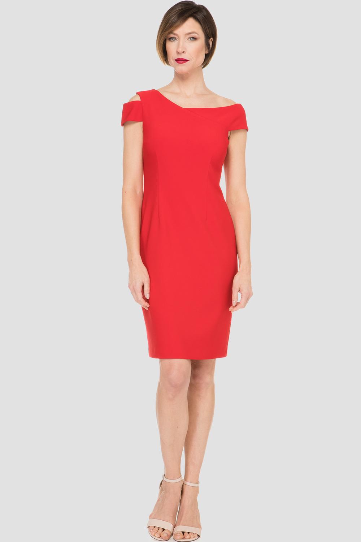 Joseph Ribkoff Lipstick Red 173 Dresses Style 191044