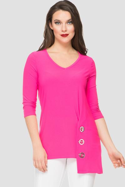 Joseph Ribkoff Chemises et blouses Rose Néon 181 Style 191080