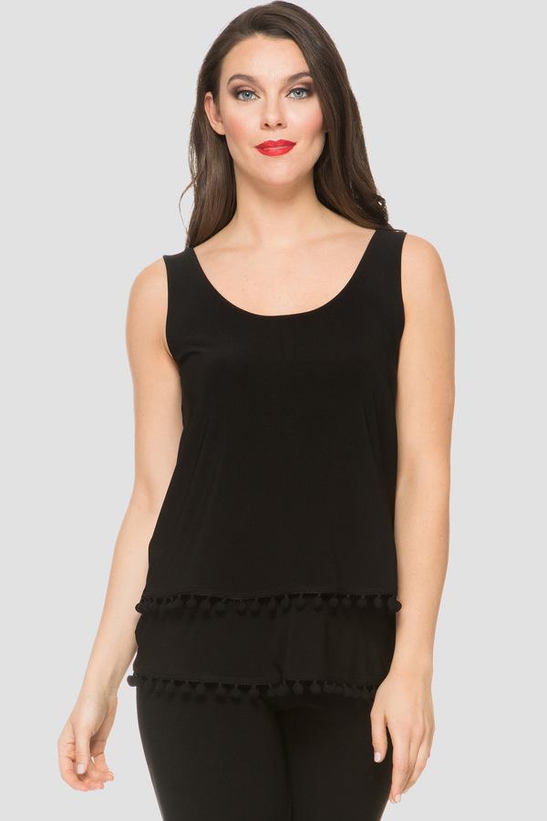 Joseph Ribkoff Tee-shirts et camisoles Noir Style 191150