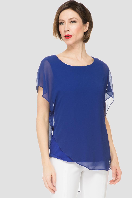 Joseph Ribkoff ROYAL SAPPHIRE163 Shirts & Blouses Style 191218