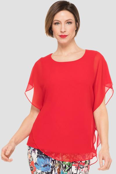 Joseph Ribkoff Chemises et blouses Rouge A Levres 173 Style 191218