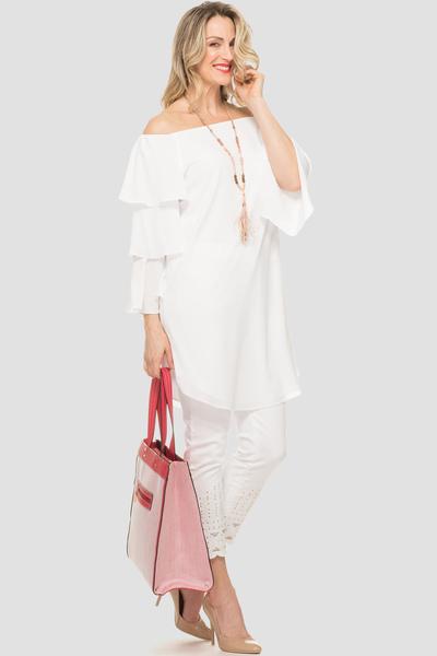 Joseph Ribkoff Robes Blanc Casse Style 191241