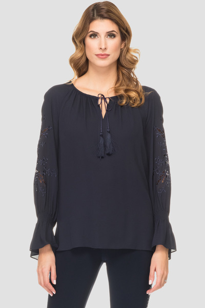 Joseph Ribkoff Chemises et blouses Bleu Minuit 40 Style 191249