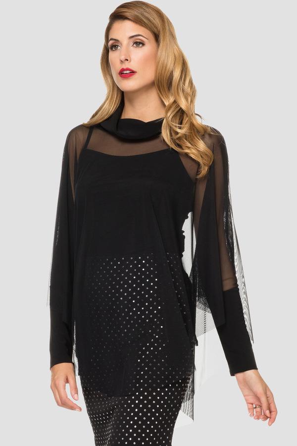Joseph Ribkoff Black Shirts & Blouses Style 191308