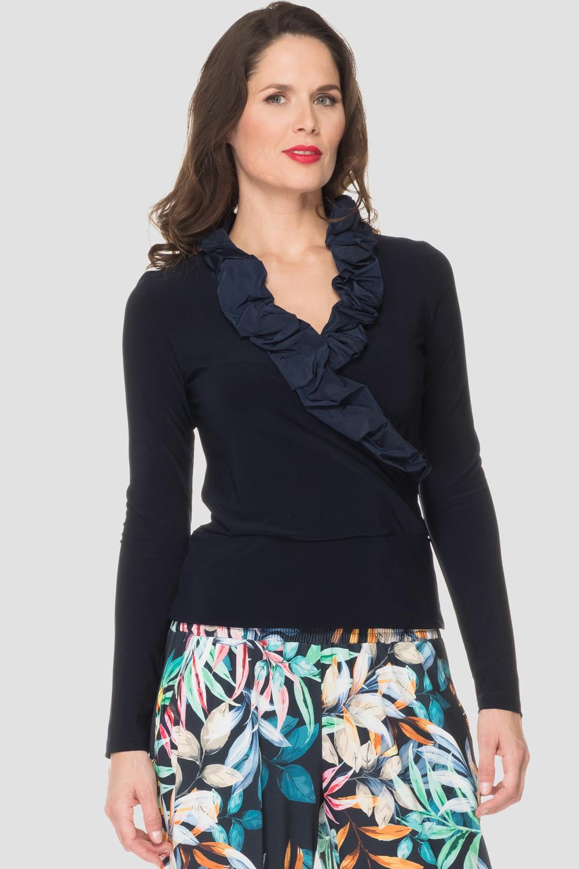 Joseph Ribkoff Midnight Blue 40 Shirts & Blouses Style 191450