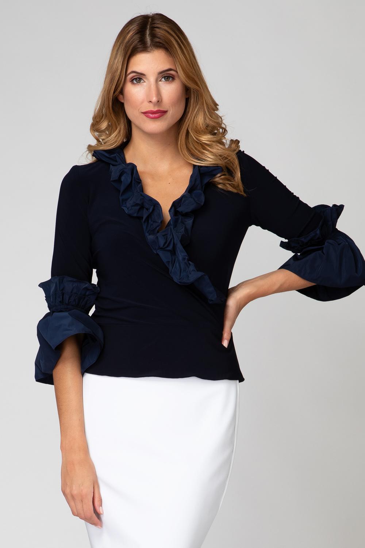 Joseph Ribkoff Chemises et blouses Bleu Minuit 40 Style 191451