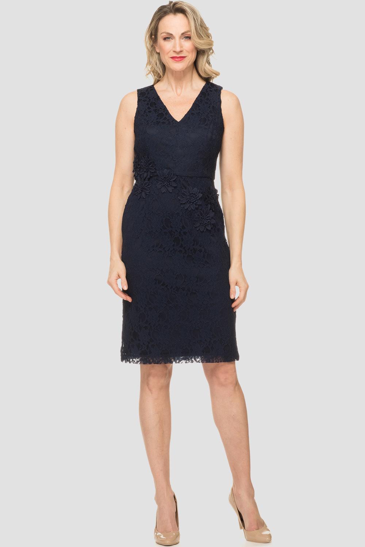 Joseph Ribkoff Navy Dresses Style 191517