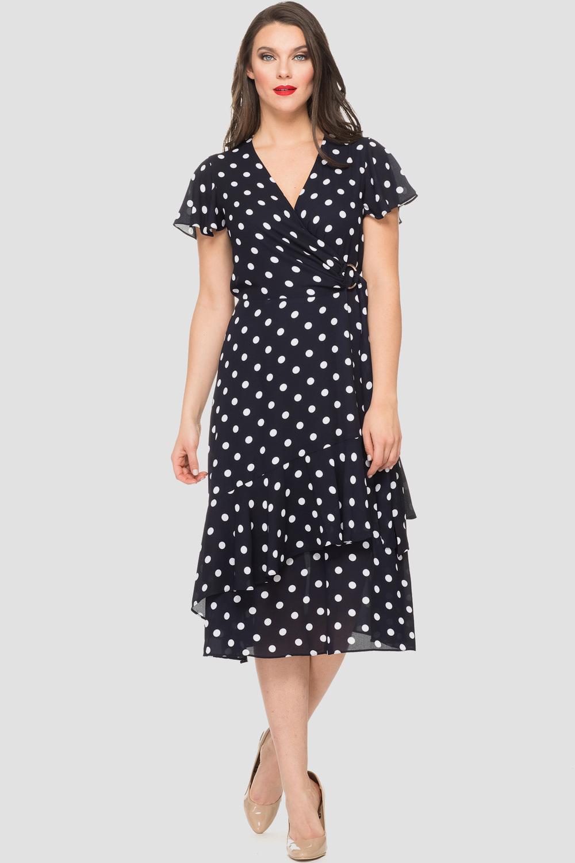 Joseph Ribkoff Midnight Blue/Vanilla Dresses Style 191616