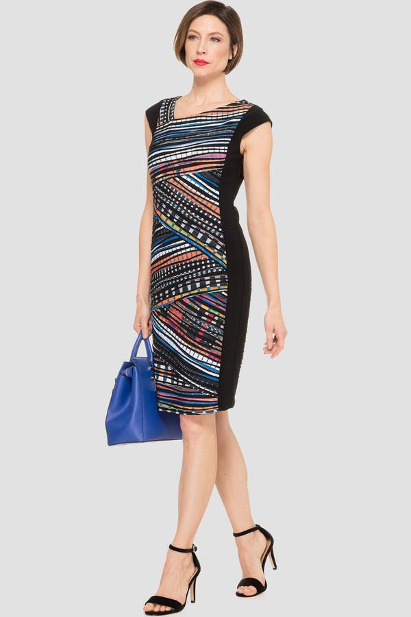 Joseph Ribkoff Multi/Black Dresses Style 191647