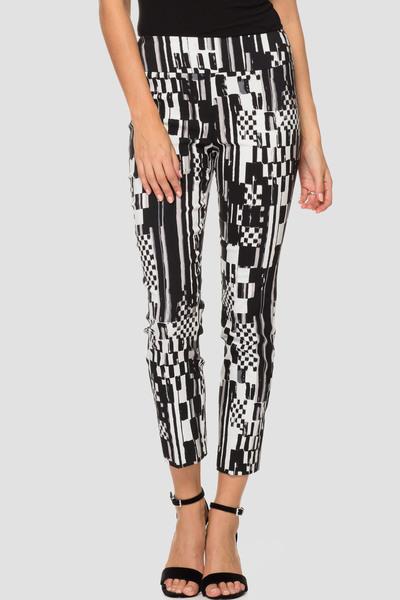 Joseph Ribkoff Pantalons Noir/Blanc Style 191666