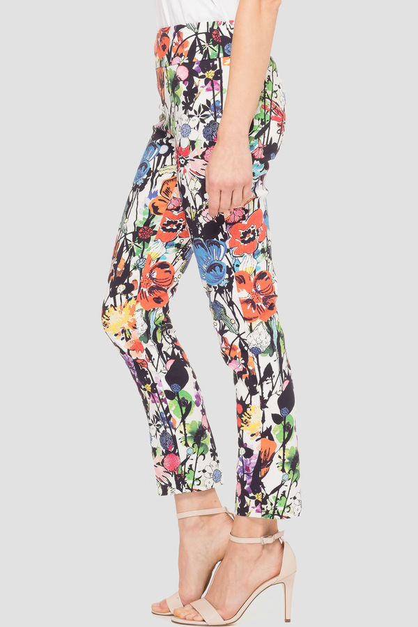 Joseph Ribkoff WHITE/MULTI Pants Style 191666